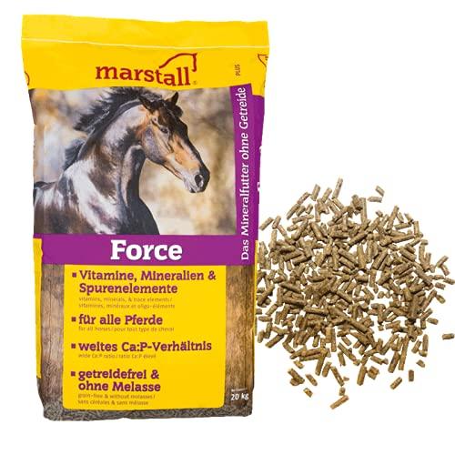 Marstall Force - 20kg pelletiertes Mineralfutter