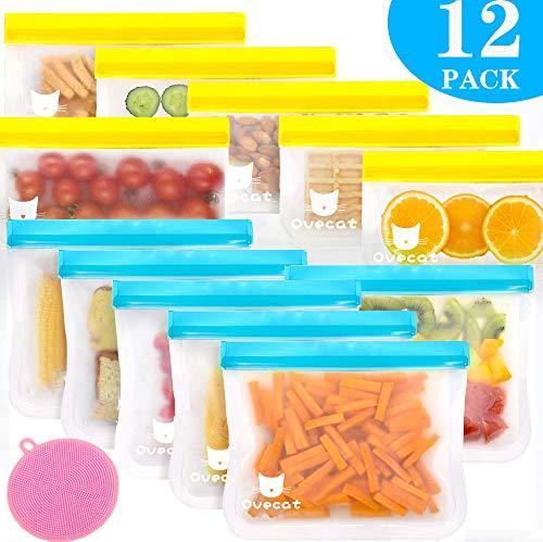 Réutilisable alimentaire Fresh Seal sac de rangement d/'étanchéité Clips Tie 30 Pack Congélateur