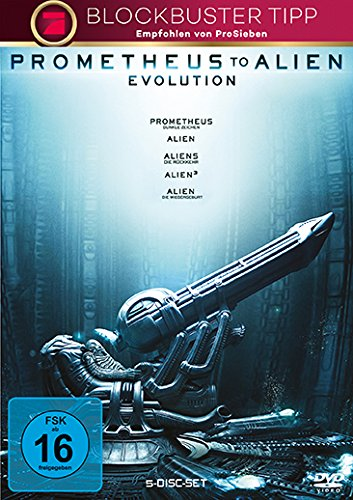 Prometheus to Alien: Evolution [5 DVDs]