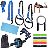 BoYun All-in-ONE Suspension Training,Home Gym,Bodyweight Resistance System,Full Body Workouts for...