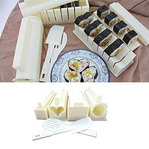Kit de fabricación de Sushi, Chef y Principiantes, Bricolaje Easy Sushi Maker Machine, un Gran Regalo para presentar Algo a Amigos y Seres Queridos