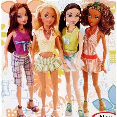 My Scene G6124 - Miami Puppen - Barbie
