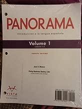 Panorama Fourth Edition: Introduccion a La Lengua Espanola Volume 1