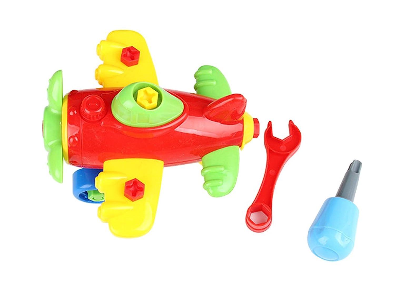 (ゼイゲウィン) Zigwin 子供 教育玩具 トイ キッズギフト おもちゃ 飛行機 航空機 DIYパズル