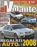 Al Volante n. 1 Anno X gen 08 - BMW M3 - Audi A3 - Ford Kuga
