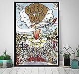 Poster Green Day Rock Band Poster Und Drucke Leinwand