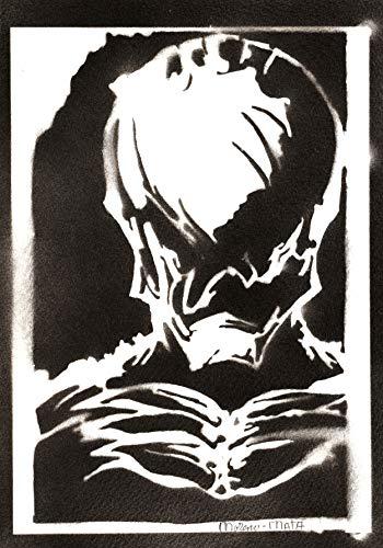 Poster Kingdom Hearts Vanitas Masked Handmade Graffiti Sreet Art - Artwork