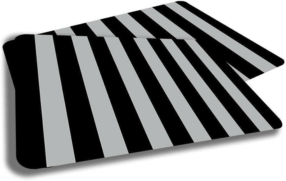 Black Gray Color Vertical Stripes Design Mat Rug Door Award Indoor Genuine Free Shipping Two
