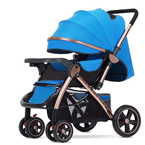 Fantastic Deal! JIAX Baby Stroller, Adjustable High View Pram, Umbrella Stroller Travel System with ...