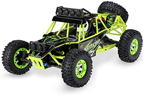Moerc 1/12 Modelo Off-Road Control Remoto Car RTR 2.4G Radio Monster RC Truck All Terrain Climbing RC Vehículo eléctrico Drifting RC Buggy con Luces Regalos para niños y Adultos
