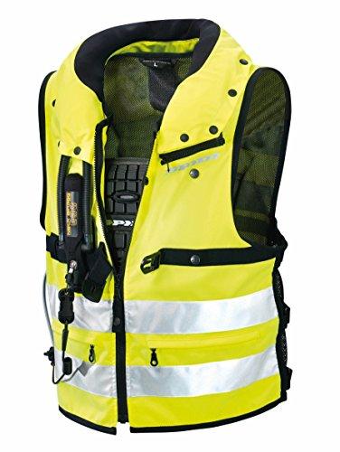 Spidi Motorrad-Safety Protection Neck DPS Tex Vest, Gelb Fluo, Größe M