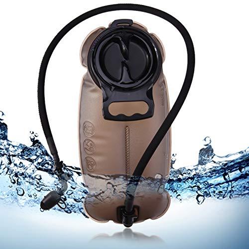 WARM home Pratique Sac d'eau d'équitation de Sports en Plein air de 3L TPU, Sac d'eau Potable portatif écologique