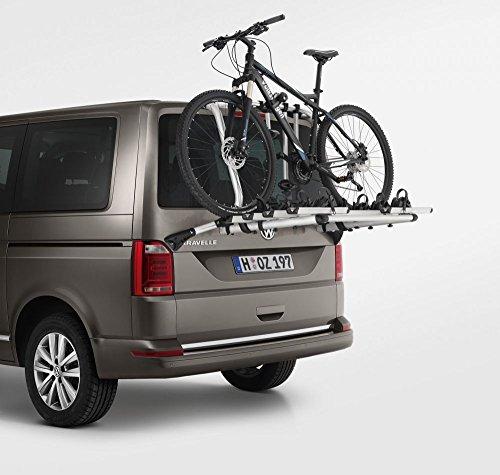 Volkswagen 7E0071104A Fahrradträger Original VW T6 Heckträger max. 4 Fahrräder, nur für elektrische Heckklappe