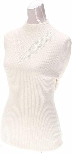 Xuanku Une Dame - Chandail Solide Sucker Slim Sleeve Long Sleeved Tête Chandail Tricoté Tous-Match La Sauvegarde