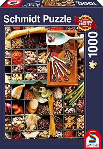 Schmidt Spiele 58141 58141-Küchen-Potpourri, 1000 Teile Puzzle, bunt