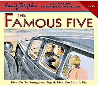 The Famous Five Five Go to Smugglers Top & Five Get into a Fix by Enid Blyton - Audio