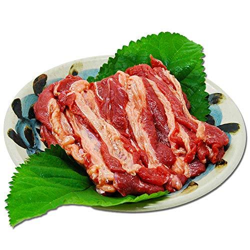 国産さくら肉 焼き肉用バラスライス (600g)