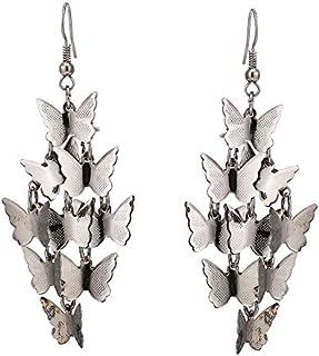 Orecchini argento piccole farfalle mcdart Lunghezza ciondolo