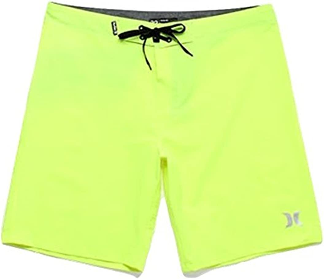 Hurley MBS0008240 Men's Phantom One and Only, Neon Yellow
