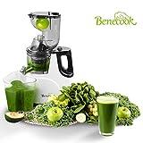Benecook Slow Masticating Juicer, BPA Free Juice Extractor, Easy to Clean