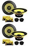 PYLE PLG6C 6.5' 800W 2 Way Car Audio Component Speakers Set Power System