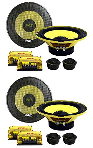 Amazing Deal PYLE PLG6C 6.5 800W 2 Way Car Audio Component Speakers Set Power System