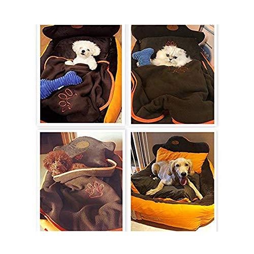PULLEY Cuccia per animali domestici materasso piccolo cane Teddy Labrador gatto lettiera inverno caldo divano dormire (taglia XL)