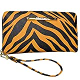 Betsey Johnson Women's Z/A Wristlet/Wallet Zebra/Black Stripes