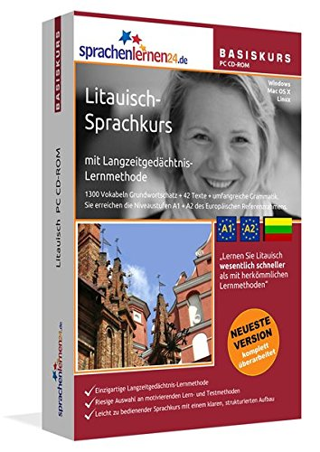 Sprachenlernen24.de Litauisch-Basis-Sprachkurs CD-ROM für Windows/Linux/Mac OS X (Livre en allemand) PDF Books