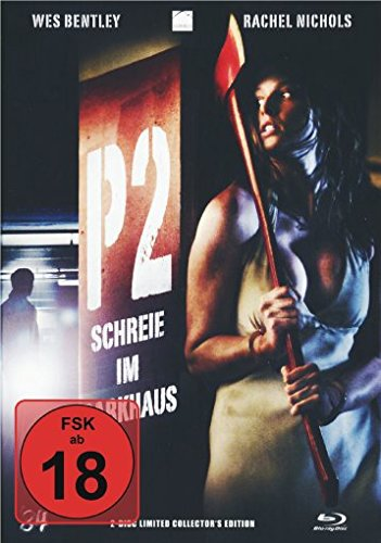 P2 - Schreie im Parkhaus - Mediabook  (+ DVD) [Blu-ray] [Limited Collector's Edition]