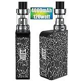 Cigarette Electronique Kit Complet,120W TC 4000mAh, E Cigarette Box Mod,Avec Ecran...