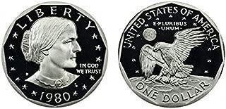 1979 susan b anthony one dollar coin worth