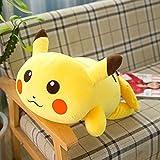 xuyuandass Pokemon Software Pikachu Peluche Poupée Plume Coton Oreiller Enfants Fille Poupée 85 Cm (La Taille Ne Compte Pas La Queue) Sourire Y1889