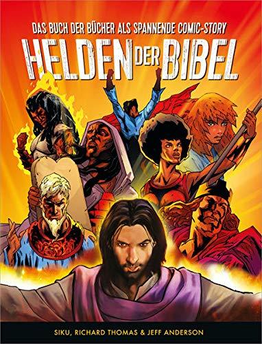 Helden der Bibel: Das Buch der Bücher als spannende Comic-Story