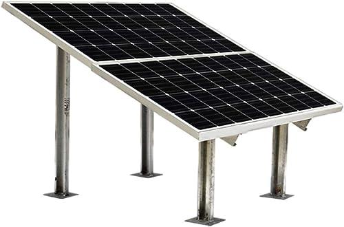 Loom Solar 180 watt Volt Mono PERC Solar Panel (Pack 2) with Panel Stand