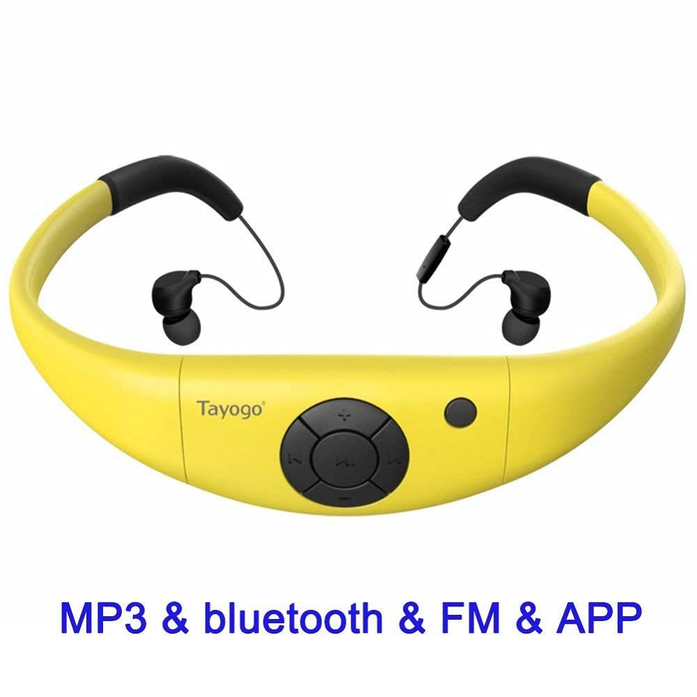 Tayogo Waterproof Bluetooth Headphones Underwater