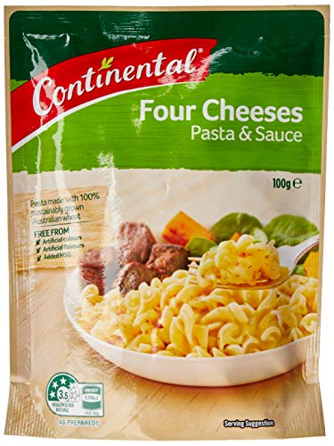 Continental Classics Pasta and Sauce Four Cheeses Serves 2, 100 g