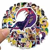 YMSD 50 unids Star Neymar Personality Sticker Computer Water Cup Skateboard casco decoración etiqueta engomada impermeable