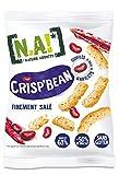 N.A! Nature Addicts - Crisp'Bean Finement Salé - Soufflés de Haricots, Légers et Délicats - 50% de Matières Grasses en Moins - Source de Fibres et de Protéines - 1 Sachet de 50 gr