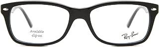Ray-Ban RX5228 - 2000 Eyeglasses Shiny Black 50mm