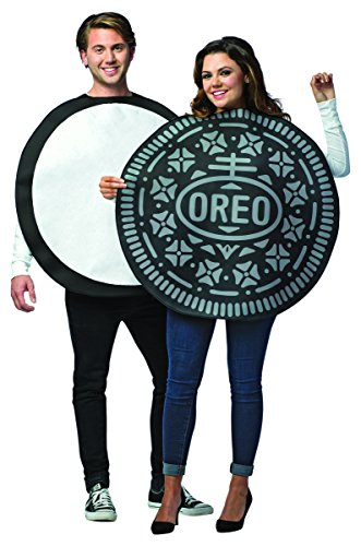 Adult Oreo Cookie Couples Fancy dress costume Standard