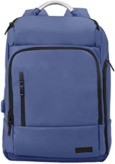 Promate Laptop Backpack, Multi-Storage Water-Resistant 17.3 Inch Laptop Bag with Anti-Theft Pockets, Padded Adjustable Str...