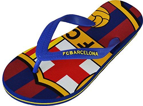 FC Barcelona - Chanclas Barça - Colección oficial para niño, Azul (azul), 29/30 EU