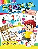 Preschool Activity Books: Fun Big Workbook for Toddler age 2-4
