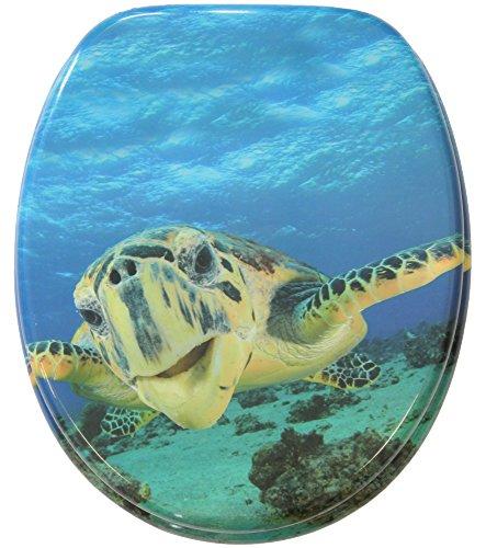 WC Sitz mit Absenkautomatik Schildkröte, hochwertige Oberfläche, einfache Montage, stabile Scharniere
