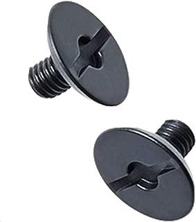 Shift Racing MX18 Whit3 Helmet Visor Screws One Size Matte Black Hardware