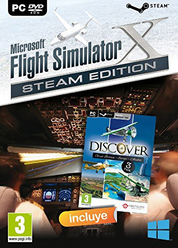 Microsoft FSX: Flight Simulator X (DVD) + Discover Series