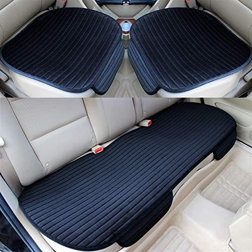 Autostoelhoes, modern, minimalistisch model voor voor- en achterstoel, antislip, met zitting voor de winter, warm Front red 1