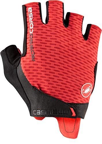 CASTELLI 4521024-023 ROSSO CORSA PRO V GLOVE Guanti ciclismo Uomo red M