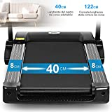 Zoom IMG-2 onetwofit tapis roulant elettrico pieghevole